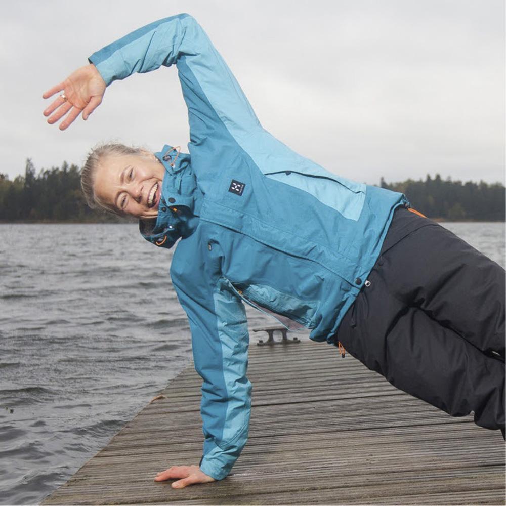 Fysioterapeutti ja pilates-ohjaaja Filippa Hokajärvi, Terapiakeskus Onni